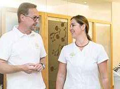 Gesunder Darm fördert gesunde Haut Moderner Mayr-Medizin Gesundheitszentrum Park Igls Innsbruck Tirol Austria - Chefarzt Dr Gartner Kosmetik Sonja Sojer