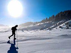 Gesundheit Fitness Bewegung Winter Moderne Mayr-Medizin Park Igls in Igls Innsbruck Tirol Austria