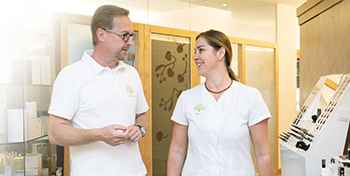 A healthy gut for healthy skin Nutrition Mayr clinic Park Igls Innsbruck Tyrol Austria - Dr Gartner Sonja Sojer