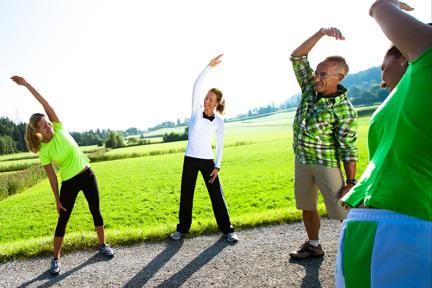 Bewegungs-Tipps aus dem Gesundheitszentrum Parkhotel Igls