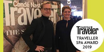 Condé Nast Traveller Spa Guide 2019 best spa Park Igls Mayr Clinic Andrea Gnaegi Peter Gartner