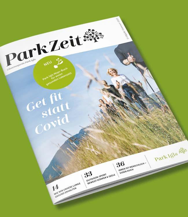 Gesundheitsresort Park Igls ParkZeit 2021_Sommer_teaser