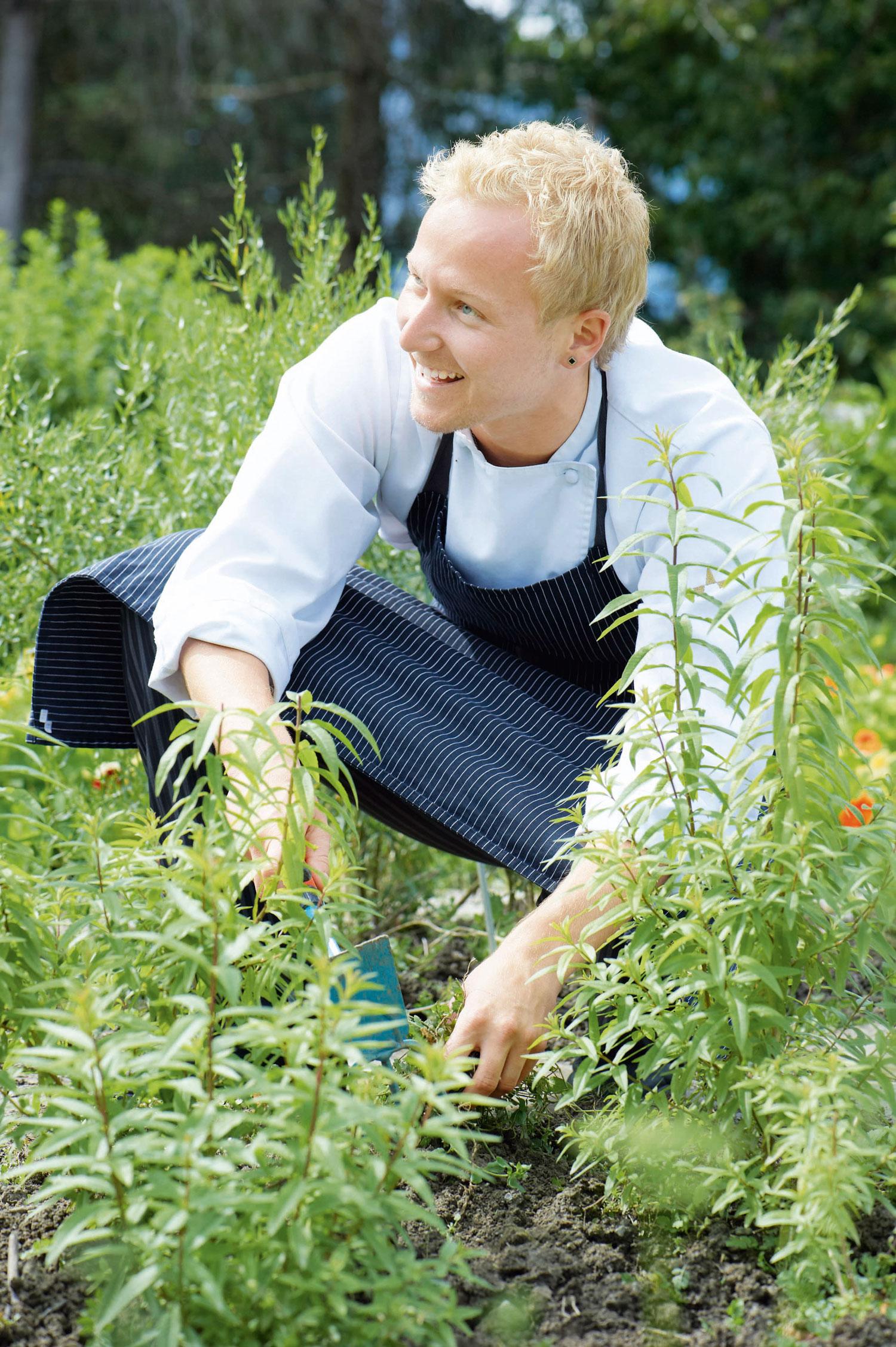Tipps von Markus Sorg für Kräutergarten von Gesundheitszentrum Parkhotel Igls