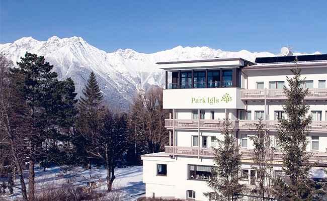 New Year's Eve Park Igls Mayr clinic in Igls Tyrol Austria