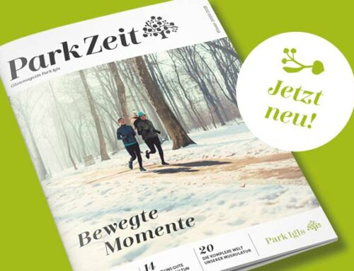 Neue Ausgabe ParkZeit Herbst/Winter 2020