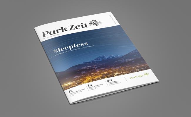 Park Igls Health Retreat Tyrol Austria Mayr Clinic guest magazine ParkZeit
