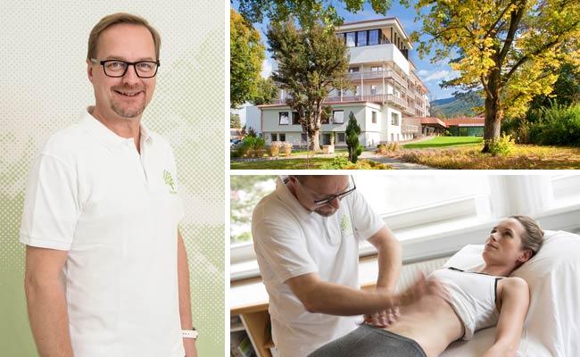 Park Igls Mayr Clinic Health Retreat Tyrol Austria: Manual abdominal treatment improves digestion