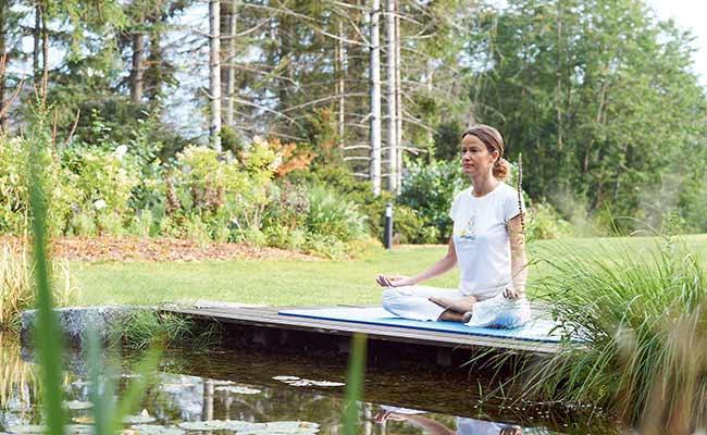 Park Igls Innsbruck Austria Moderne Mayr Medizin Bewegung Yoga