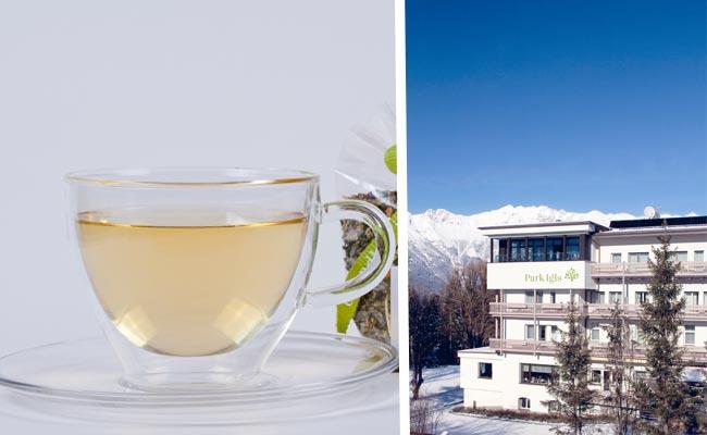 Park Igls Moderne Mayr Medizin Tirol Mayr Kur Trinken Tee Wasser Bittersalz