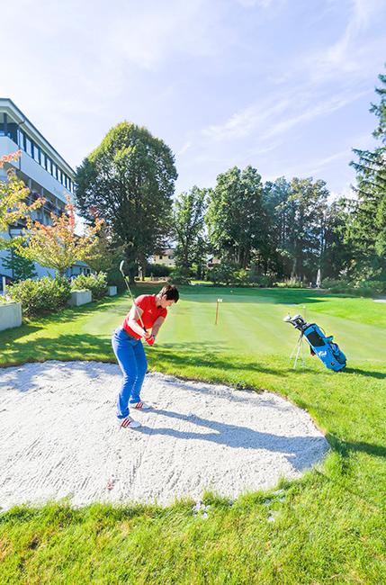 Golfen im Parkhotel Igls