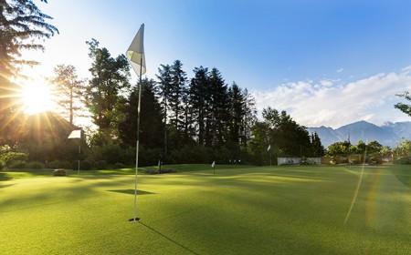 Golfplatz im Parkhotel Igls in Tirol