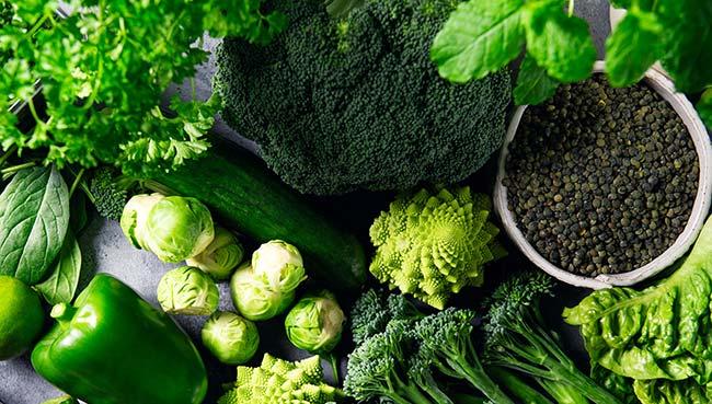 Schonend gegart Gemüsewok