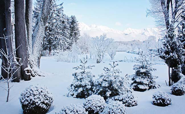 Stress Park Winter Moderne Mayr-Medizin Park Igls in Igls Innsbruck Tirol Austria
